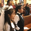 First Communions at our Spanish Mass photo album thumbnail 4