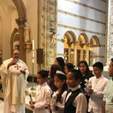 First Communions at our Spanish Mass photo album thumbnail 26
